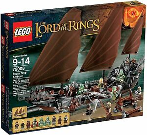 LEGO-The-Lord-of-the-Rings-79008-Pirate-Ship-Ambush-NewSealed-BoxDented-FreePost