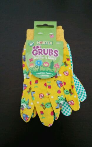 BRAND NEW Hortex Toddler Mini Garden Gloves Kid's Gardening Gloves