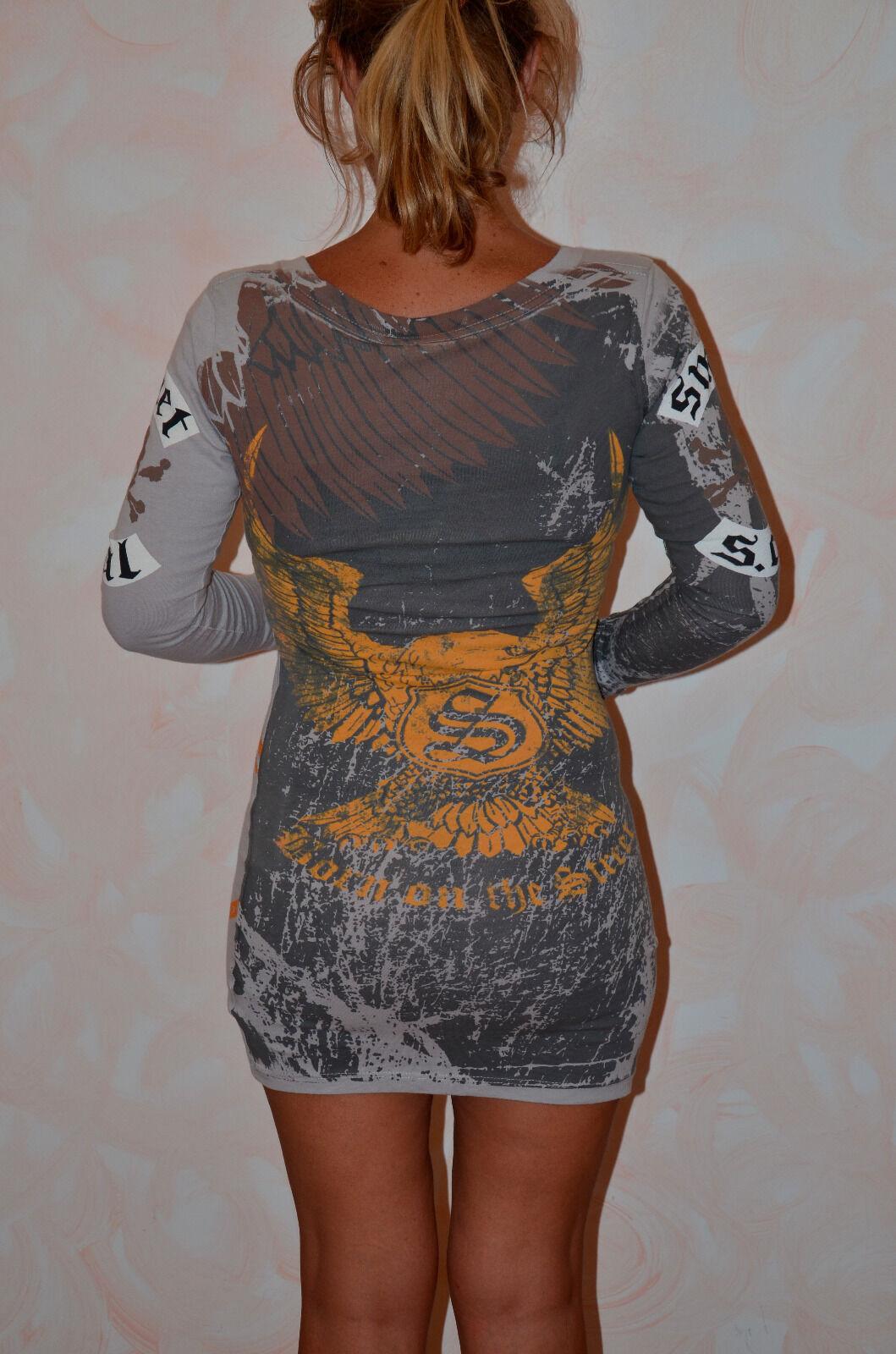 Bel vestito grigio SMET LOS ANGELES    hallyday taglia XS NUOVO ETICHETTA