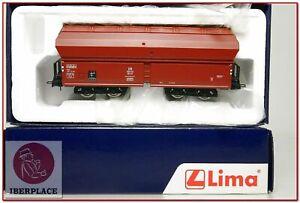 H0-escala-1-87-maqueta-trenes-modelismo-DC-Lima-HL6001-vagon-mercancias-DB-NEW