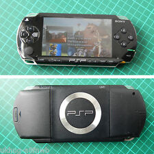 Sony PSP-1004 Playstation Portable UMD Handheld Travel Video Games Console Black