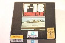 RARE F-16 COMBAT PILOT AMSTRAD CPC 464,664,6128 DISC GAME (BIG BOX GAME) 1991