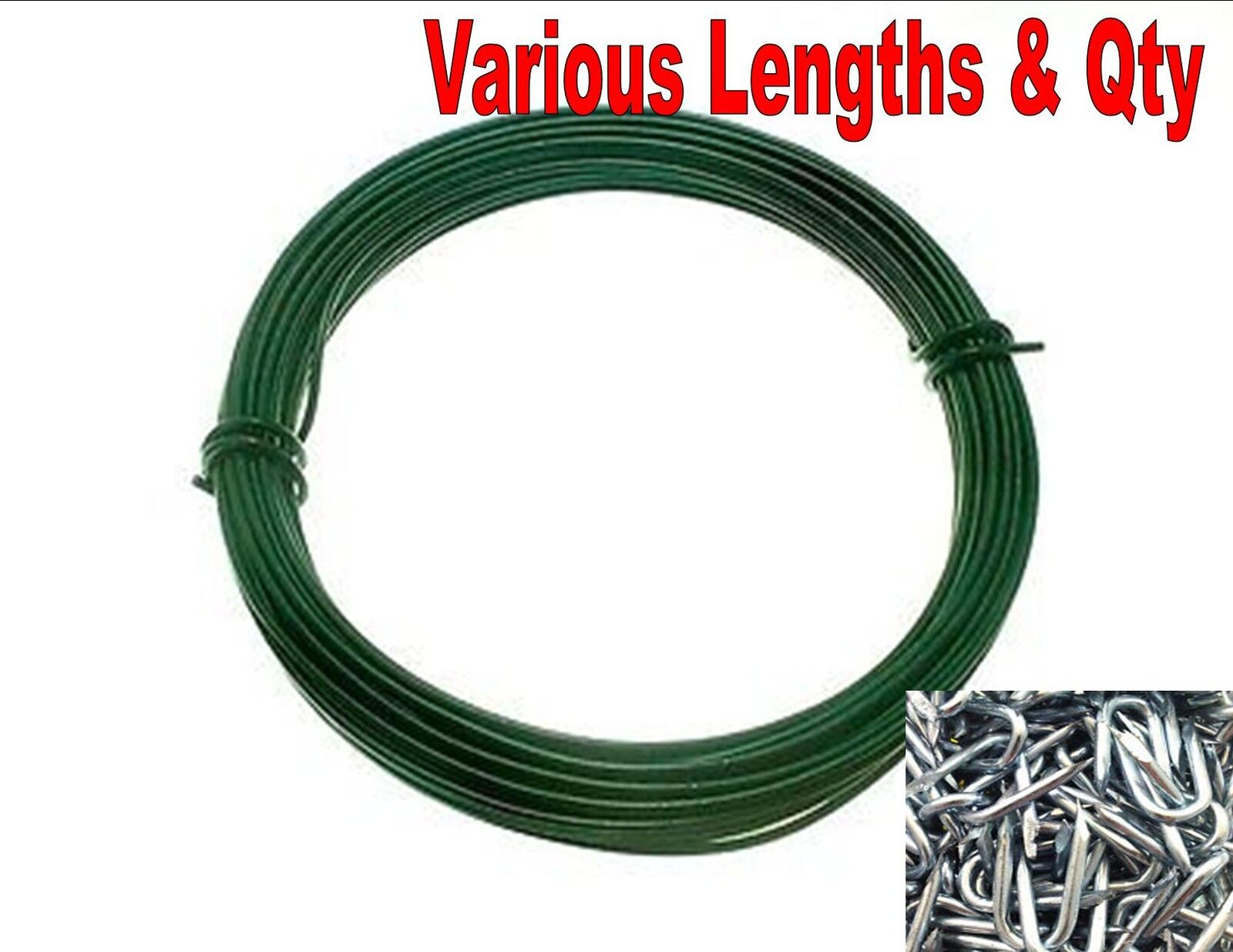Tendifilo Plastic Green for Wire Fence Kit 5 pieces