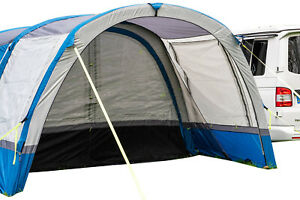 Inflatable-Awning-Extension-to-fit-OLPRO-Cocoon-Breeze-Blue-amp-Grey