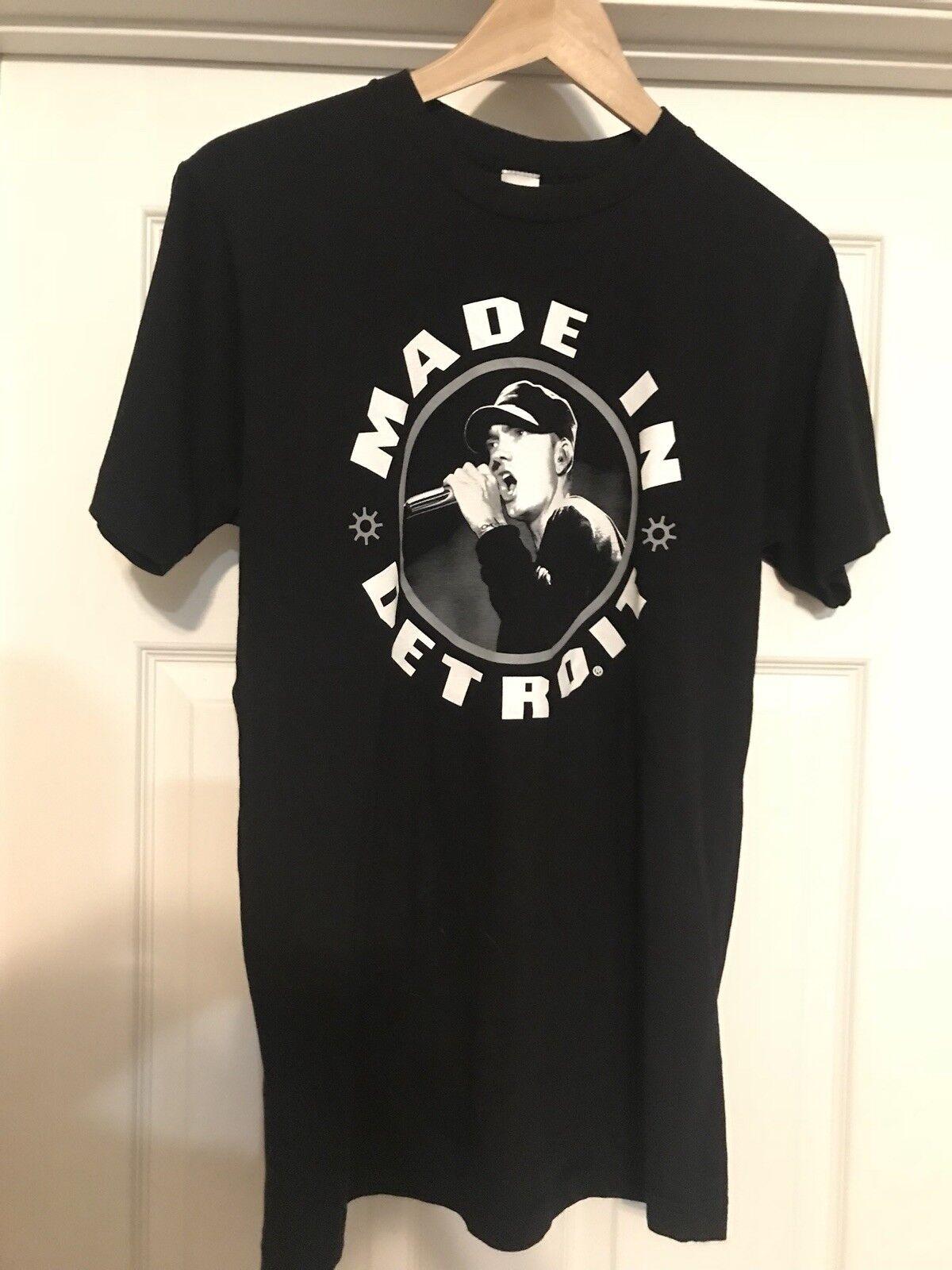 Eminem Shirt Made In Detroit Mens Meduim RARE