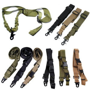 Accessory-Rifle-Airsoft-Tactical-Strap-Hunting-Gun-Belt-Shoulder-Sling-Point