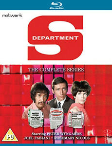 Department-S-The-Complete-Series-Blu-Ray-2017-Peter-Wyngarde-cert-PG-6-discs