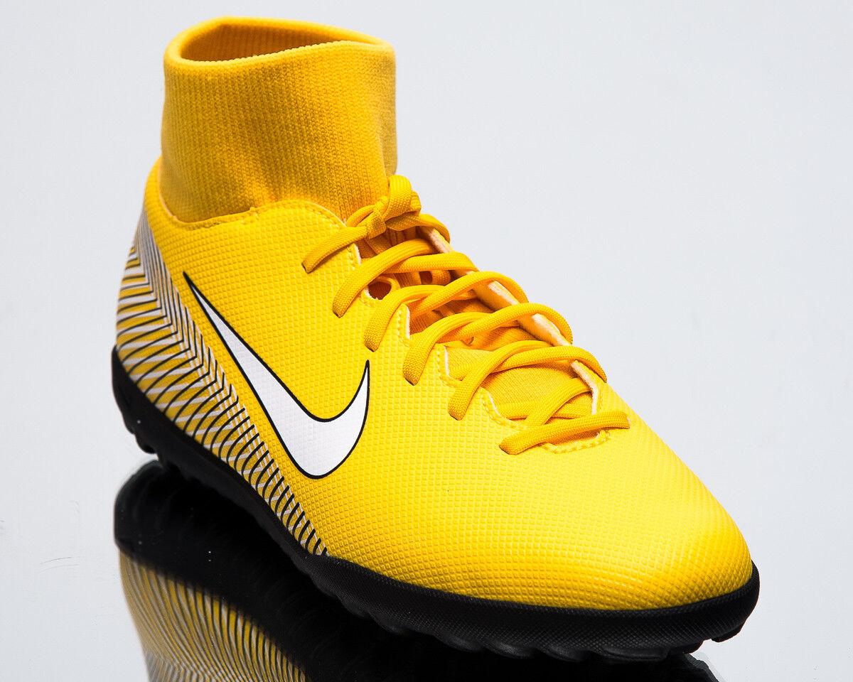 Nike Mercurial Superfly VI Club Neymar Jr. TF Uomo New Soccer Scarpe AO3112-710