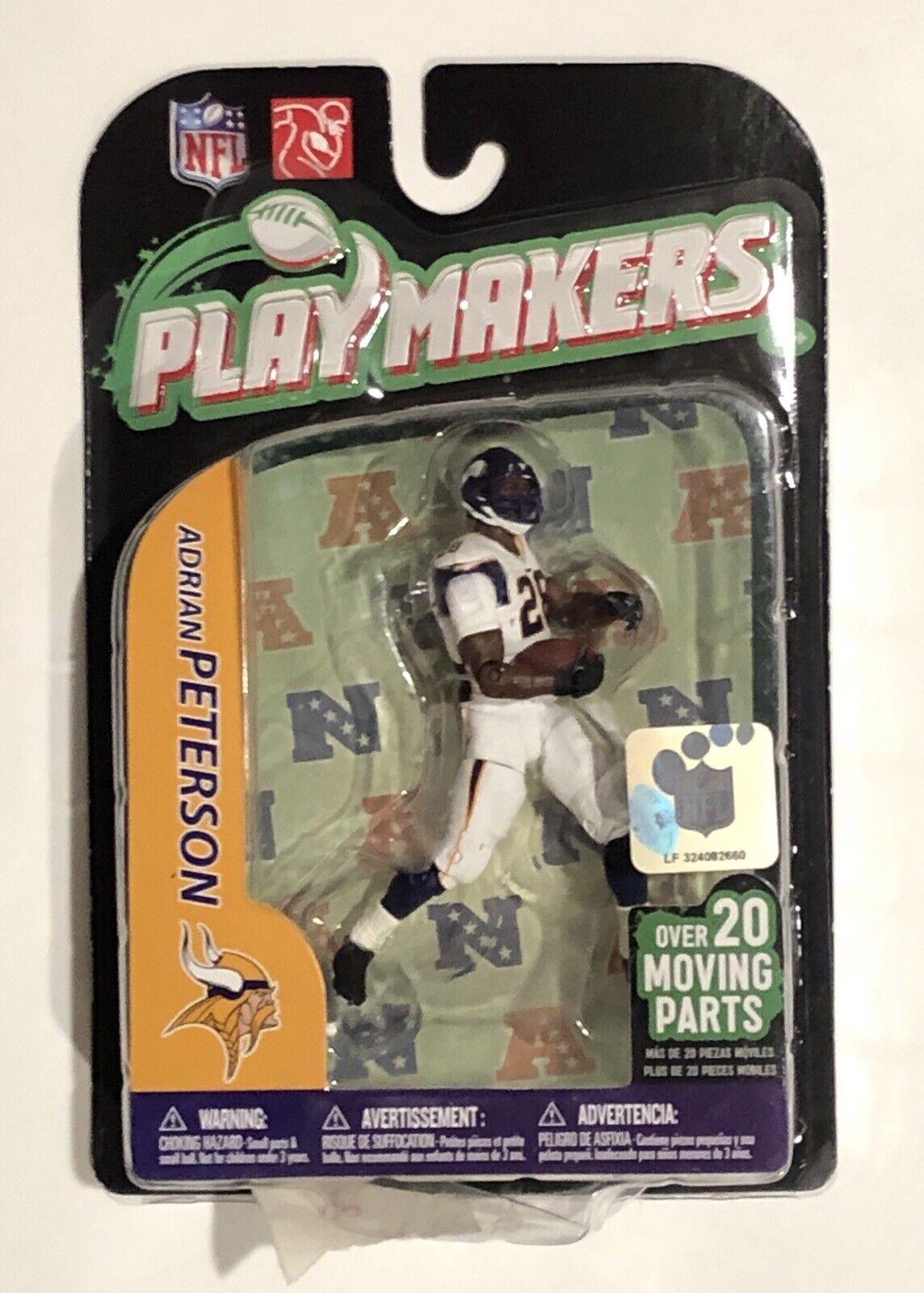 NIB 2011 Adrian Peterson Minnesota Vikings McFarlane Toys NFL Playmakers Figure