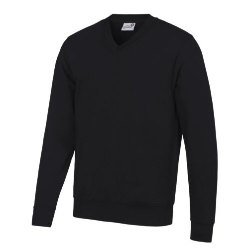 AWDis Academy AC003 Academy Cotton V-Neck School Sweatshirt Childrens