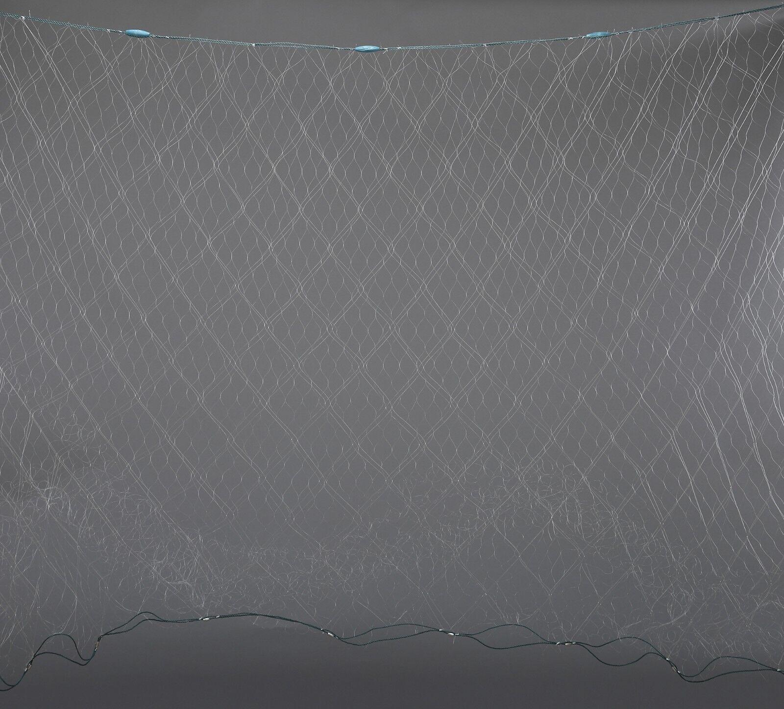 6'X100' Finished Trammel Fishing Net,  3 Layers Fishing Gill Net, Seine Net  simple and generous design