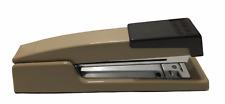Vintage Bostitch Model B440 Desktop Stapler Tan