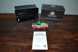 Texaco Matchbox 1941 CHEVY PICK-UP TRUCK W/ 7 BOXES #92121, COA, 1/43