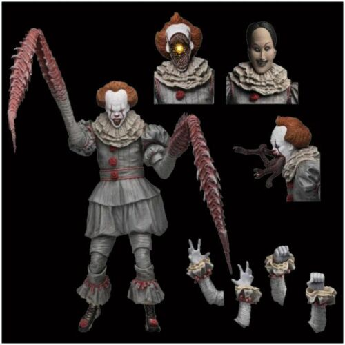 IT STEPHEN KING 7″ Action Figure NECA ULTIMATE PENNYWISE Dancing Clown