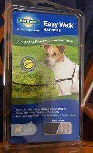 PetSafe//Premier Pet Easy Walk Harness Medium Black//Silver