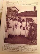 74-5 Ephemera 1917 Picture Holland Medical Mission Monastir