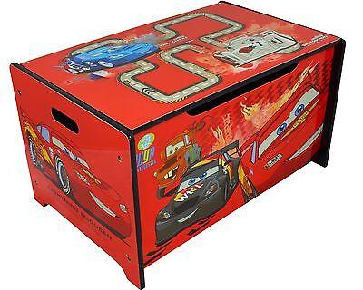 Disney Cars Spielzeugkiste Truhe Spielzeugbox Aufbewahrungskiste McQueen B-Ware