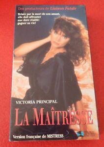 VHS-Movie-La-Maitresse-Version-Francaise-Victoria-Principal