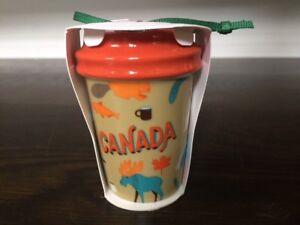 Starbucks CANADA ORNAMENT 2017 - New with SKU