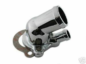Chrome Water Neck Thermostat Housing Oldsmobile Olds 260 307 350 400