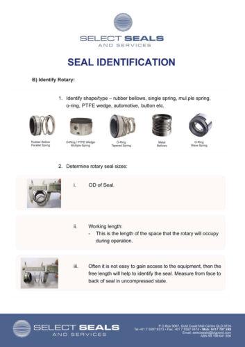 KSB AJAX ISO Series Pump Module 2# 65 x 40-250 ISO Pump Mechanical Shaft Seals