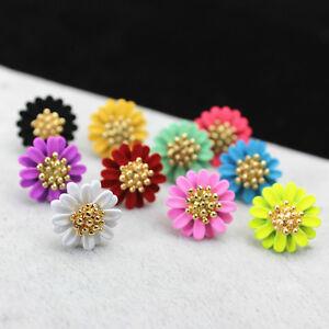 Details About Fashion Elegant Jewelry Flowers Stud Earrings For Women Lady Oq