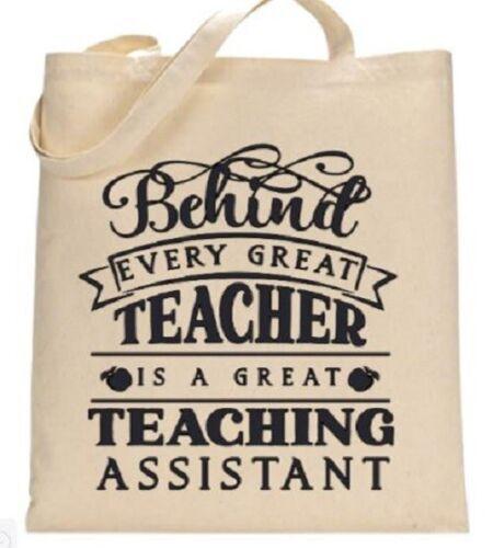 Teacher School Gift Tote Bag for Teachers Teaching Assistants