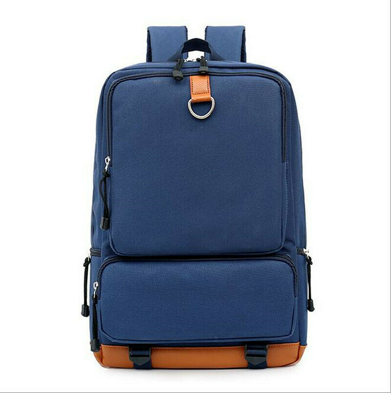Color : Blue, Size : 4727cm Lydianzishangwu Waterproof Laptop Bag Canvas Backpack Large Capacity Fashion Backpack Bucket Bag