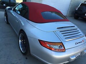 Image Is Loading 911 996 997 Convertible Top Haartz Bordeaux Red
