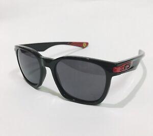 Oakley-Sunglasses-Scuderia-Ferrari-Garage-Rock-9175-34-Black-w-Warm-Grey