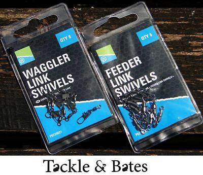 Preston Waggler Link Swivels Wirbel