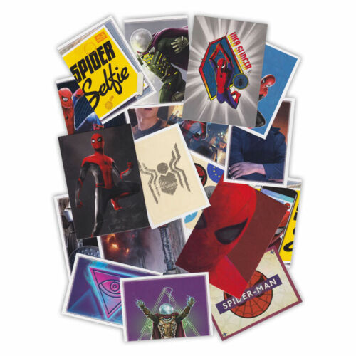 Marvel Spider-Man Far from Home tous les autocollants et trading cartes sélection unique de