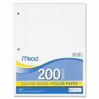 Mead Notebook Filler Paper - 200 Sheet - 16 Lb - College Ruled - Letter 8.50 X on sale
