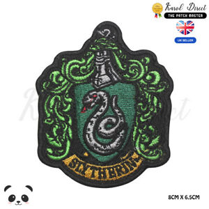 Harry-Potter-Slytherin-Embroidered-Iron-On-Sew-On-Patch-Badge-For-Clothes