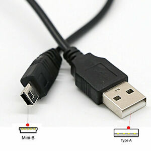 1m-2m-3m-Long-MINI-USB-Cable-Sync-amp-Charge-Lead-Type-A-to-5-Pin-B-Phone-Charger
