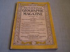 ANTIQUE NATIONAL GEOGRAPHIC November 1928 MARCO POLO Venice LAMAS OF CHONI