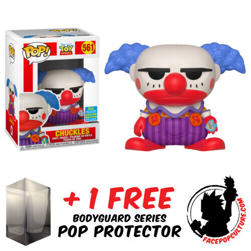 FUNKO POP VINYL TOY STORY CHUCKLES SDCC 2019 EXCLUSIVE FREE POP PROTECTOR