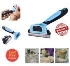 Fur Deshedding Tool Small Medium Large Dog Cat 2.5