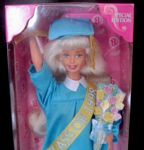 Class of 1998 Graduation Barbie 1997 17830 NRFB Mint w//LN box
