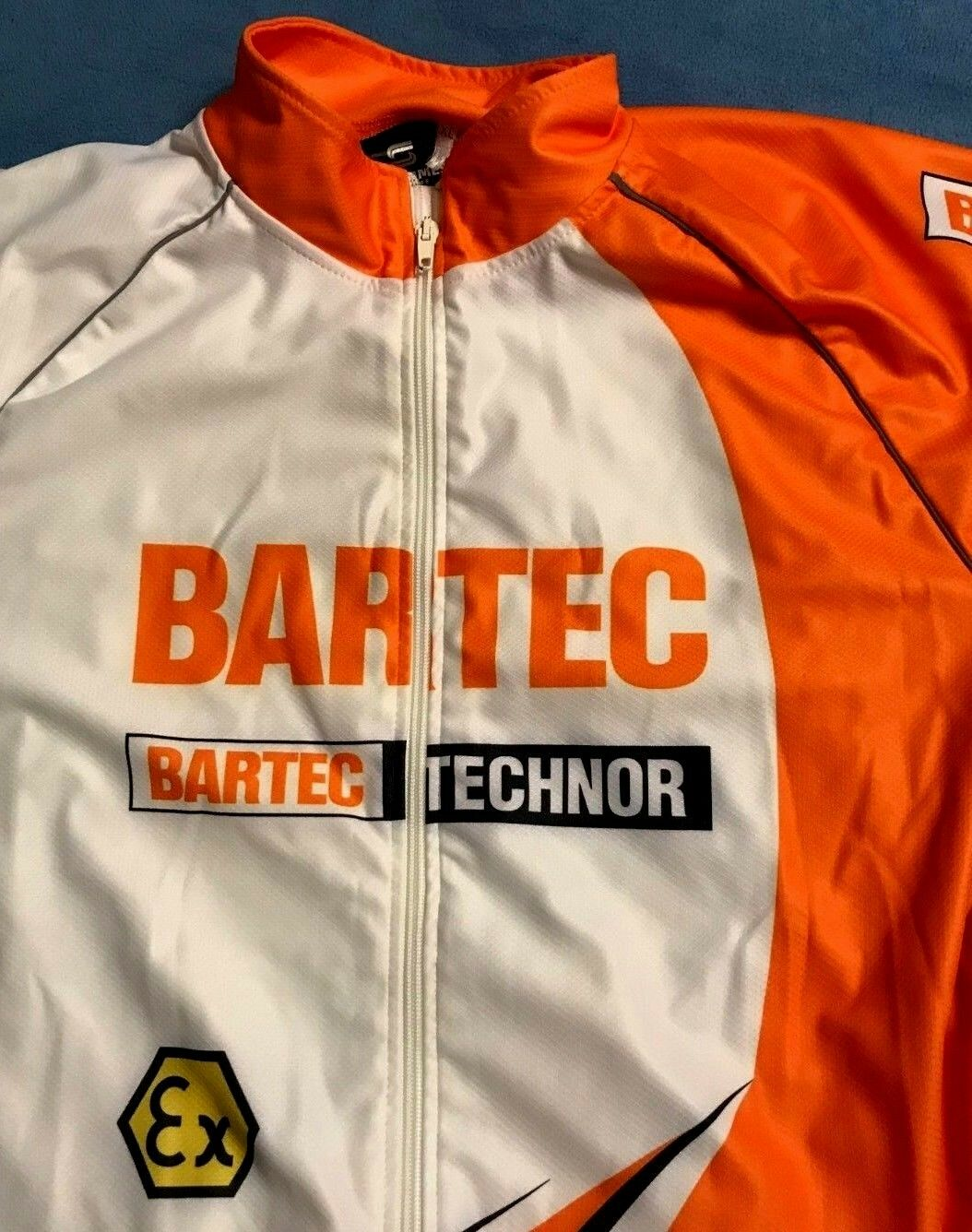BARTEC TECHNOR CYCLING JERSEY ex STROMMES REKLAME MEN'S XL extra large BICYCLING