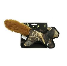 HYPER PET Realtree Squirrel for Dog Toy - Double layered Quilted Heavy Duty
