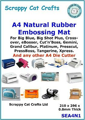 SEA4N1  1 A4 Embossing Mat for Any A4 Die Cutter Big Shot Plus Gemini