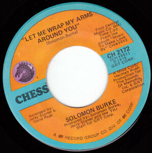 "SOLOMON BURKE - Let Me Wrap My Arms Around You 7"" 45"