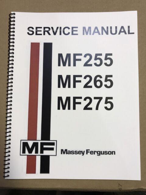 massey ferguson 255 tractor service repair shop manual technical rh ebay com massey ferguson 255 parts manual massey ferguson 255 parts manual