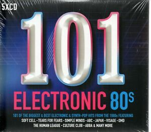101-Electronic-80-039-s-Various-Artists-CD-2017-New