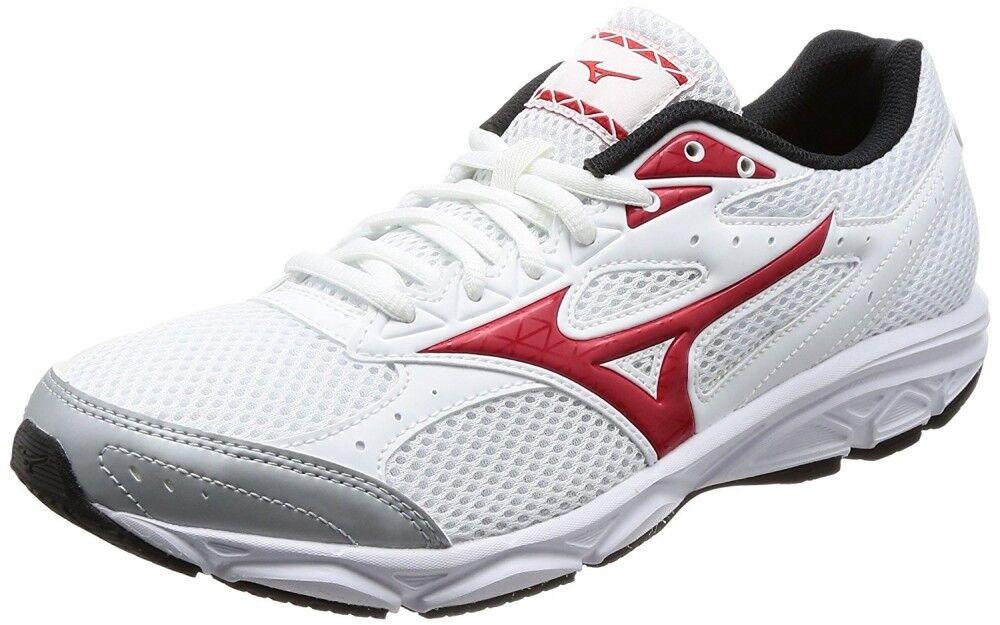 Mizuno Running Scarpe MAXIMIZER 20 K1GA1800 White × Red Free shipping
