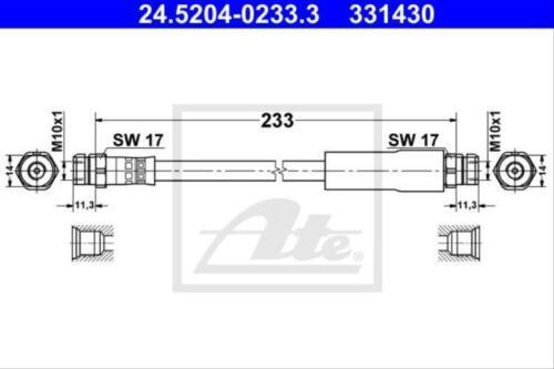 Original ATE 24.5204-0233.3 Bremsschlauch