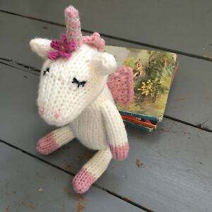 Knitted Unicorn Pattern Soft Toy Easy Knitting New Knit ...