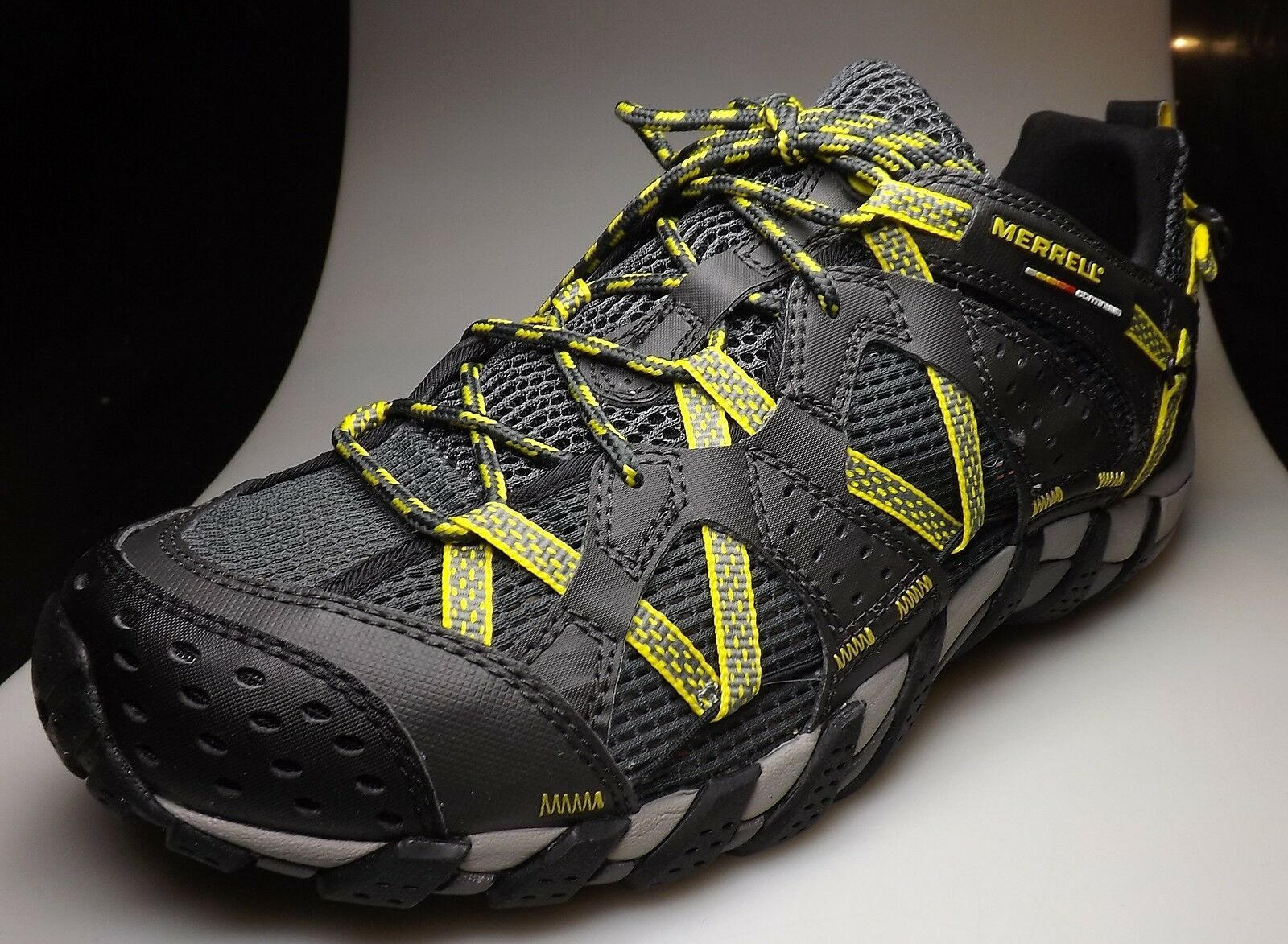 Merrell waterpro maipo mens multisport - footwear  for water, carbon-yellow  fast delivery
