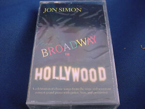 Broadway-to-Hollywood-soundtrack-Cassette-NEW